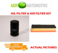 PETROL SERVICE KIT OIL AIR FILTER FOR CHRYSLER YPSILON 1.2 69 BHP 2011-