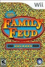 Family Feud: Decades (Nintendo Wii, 2010)