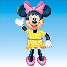 Party Supplies Girls Decorations Birthday Airwalker Foil Balloon Minnie Mouse
