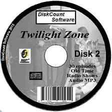 The Twilight Zone - 30 Old Time Radio Shows Audio MP3 CD (2)