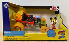 Disney Junior Mickey and the Roadster Racers Super-Charged Pullback Racer
