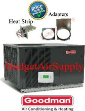 "3 Ton 14 seer Goodman A/C/Electric Heat""All in One Package""Unit GPC1436H41+Heat"