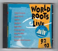 (IA307) World Roots Live 92-93, 15 tracks various artists - CD