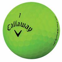 24 Callaway Superhot Matte Green AAA (3A) Used Golf Balls