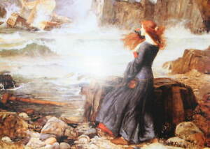 Ophelia,by the sea by John William Waterhouse