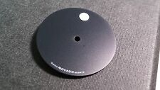 Movado Museum 87 25 832 Dial flat black dial with WHITE dot. 21mm diameter