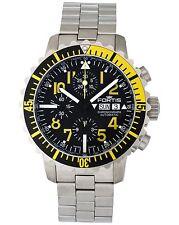 Fortis B42 Marinemaster Yellow Chronograph Men's Watch - 671.24.14.M