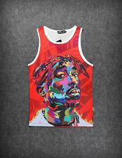 Tupac Vest [Fresh Dope streetwear tank top swag Hip-Hop 2pac hipster Basketball]