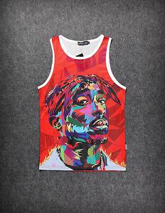 Tupac Vest [Fresh Dope streetwear tank top swag Hip-Hop 2pac hipster Basketball]