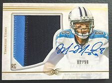 #2/50 Marcus Mariota 2015 Topps Definitive Collection Auto Patch RC #DC-1