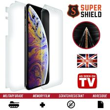 Apple iPhone XS SCREEN PROTECTOR FRONT BACK SIDES CURVED FULL BODY SHIELD FILM