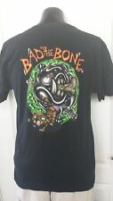 George Thorogood and the Destroyers Band Bad To The Bone Dog Cat Logo TShirt L