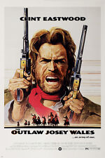 CLINT EASTWOOD the OUTLAW JOSEY WALES movie poster 24X36 classic WESTERN