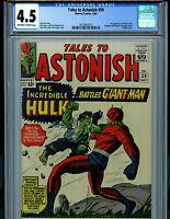 Tales To Astonish #59 CBCS 4.5 1964 Silver Age Marvel Comics Amricons K20