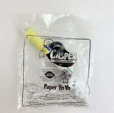 Dairy Queen Harvey Toons 2000 Casper The Freindly Ghost Paper Yo Yo Toy Sealed