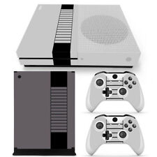 Retro Nes  Skin Decal Stickers FOR XBOX ONE S Slim Console &2 Controllers skin