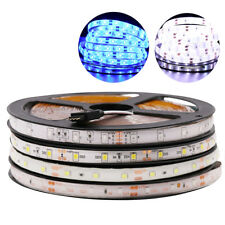 RGB 60 LED 5M Strip Light Tape XMAS Cabinet Kitchen Ceiling WATERPROOF 2835 12V