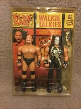 Wwe/wwf/wcw Mega Rare Vintage Slam Bam Walkie Talkies (1999) Must See!