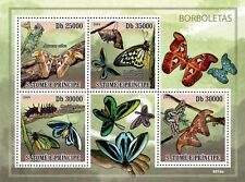 Worlds largest Butterflies Sao Tome & Principe 2009 m/s Sc. 2112 MNH #ST9316a