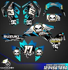 Suzuki LTR 450 ATV stickers decals graphics kit 2006-2014