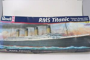 Revell RMS Titanic Model Kit 1:570 Ocean Cruise Liner Ship Open Box