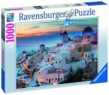 Condividere Puzzle 1000 Sera oltre Santorini Ravensburger 19611 Fotopuzzle ab 14