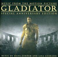 GLADIATOR - Original Soundtrack - ZIMMER (New CD)