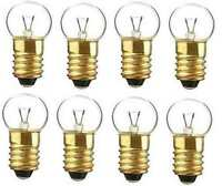 (8) Eight 432C Clear18v BULBS for Lionel Marx O O27 Gauge Trains Accessories