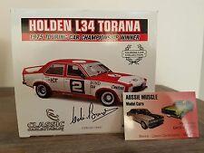 1:18 Classic HDT LH L34 Torana #2 Colin Bond 1975 ATCC Winner Signed