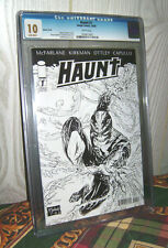 ONLY 1 IN EXISTENCE!! Haunt #1 Sketch Cover Variant 1:100 CGC 10 - HUGE!! NO pgx