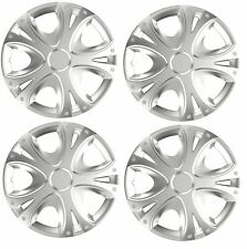 "4x Wheel Trims Hub Caps 14"" Covers fits Toyota Avensis Aygo Yaris"