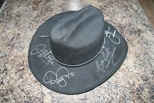 Autograph Black Cowboy Hat D Yoakam, B Currington, D Carter, J Nichols, D Drake