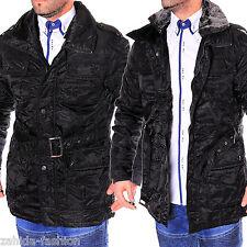 young&rich y&r Chaqueta De Hombres Abrigo Textil Cazadora Invierno BRILLO cálido