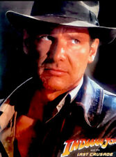 Indiana Jones And The Last Crusade Poster 1989 Vintage Harrison Ford