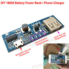 5V USB Lithium Li-ion 18650 3.7V Battery Charger Module DIY Phone Power Bank