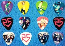R5 Band -Ross Lynch- Guitar Picks - Set of 12