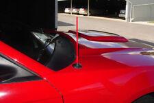 Short custom antenna Red - Ford Mustang 1999 - 2009