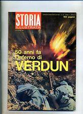 STORIA ILLUSTRATA#SETTEMBRE 1966 N.106#50 ANNI FA L'INFERNO DI VERDUN#Mondadori