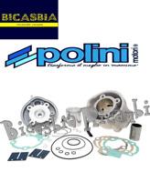 10594 - CILINDRO POLINI ALUMINIO DM 50 AM6 50 H2O APRILIA AF1 - MX - RS - RX