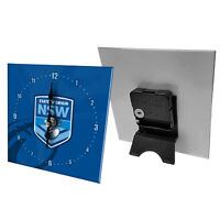 NRL Desk Clock  - New South Wales Blues - Gift Box - Rugby League Football NSW