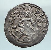 1356-1396AD BULGARIA IVAN STRATSIMIR Silver Medieval Coin w JESUS CHRIST i79941