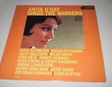 ANITA O'DAY - SINGS THE WINNERS -  VERVE LP 1958 MADE IN U.S.A - JAZZ -  V 8485