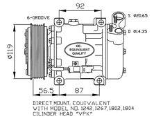 Compressore Peugeot Expert 1.6 Diesel HDI Dal 2007 ->