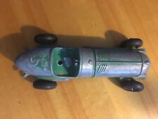 Antique Metal Race Car 7 Inches Long
