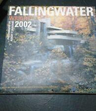 Set of 3 Frank Lloyd Wright Falling Water Calendars-2002-2003