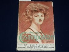 1912 DECEMBER COSMOPOLITAN MAGAZINE - CHARLES DANA GIBSON COVER - ST 5493