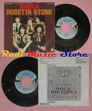 LP 45 7'' ROSETTA STONE Sheila I don't like it 1978 germany PRIVATE no cd mc dvd
