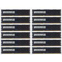 192GB Kit 12 16GB DELL POWEREDGE R610 R710 R815 R510 C6105 C6145 R720 MEMORY Ram