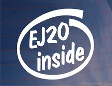 EJ20 INSIDE Novelty Vinyl Car/Window/Bumper Sticker Ideal For Subaru Impreza WRX