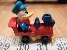 "Tomy Disney 2 1/4"" Donald Duck Engineer Die Cast D1929 Train Engine 3"" Diecast"
